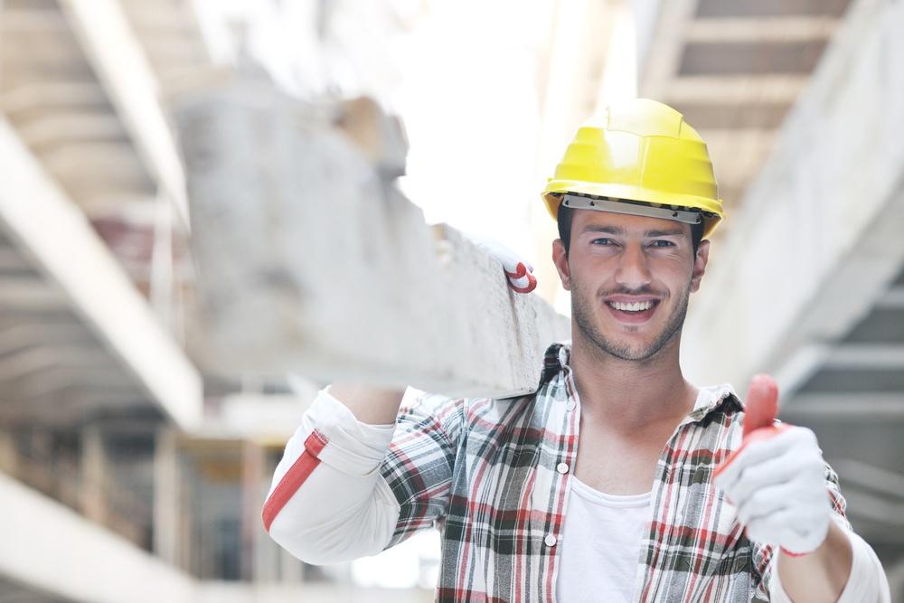 handsome hard worker people portrait at concstruction site-1