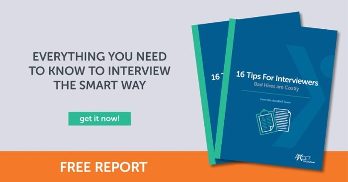 16 Tips for the Interviewer