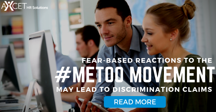 Fear-based reactions to the #metoo movement may lead to discrimination claims