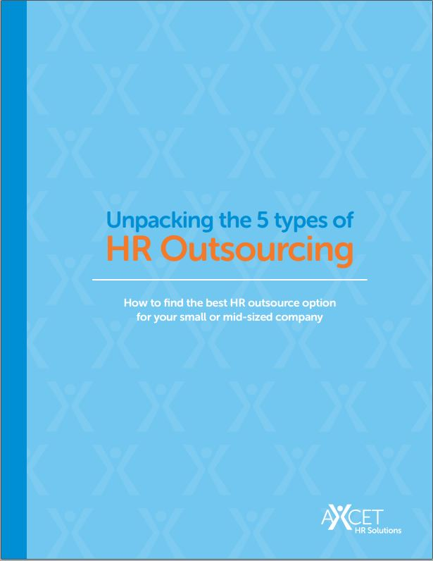 5 types of HR Outsourcing - cover