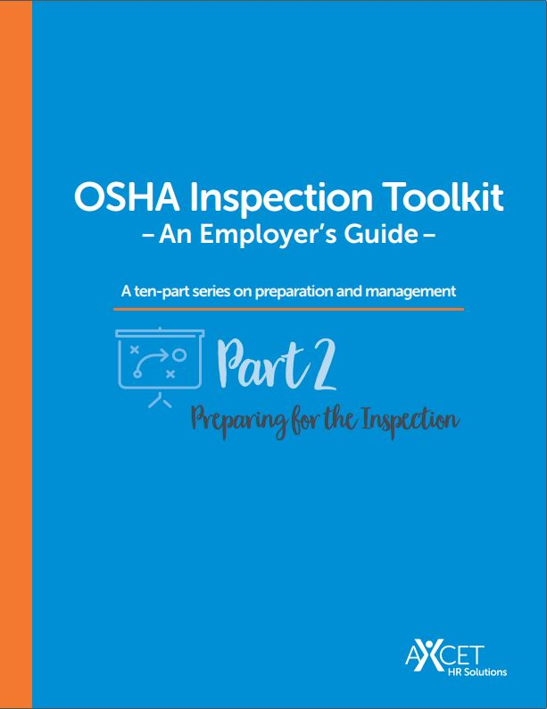 White Paper - OSHA Inspection Toolkit - Preparing for the Inspection - cover