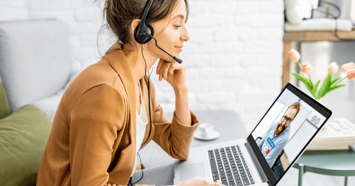 small business owner onboarding a remote employee virtually