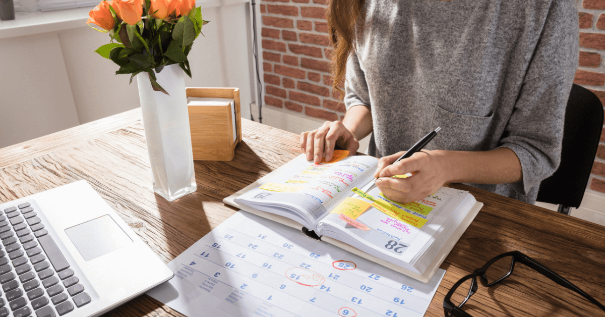 small business owner creating a fair weekend and holiday employee schedule