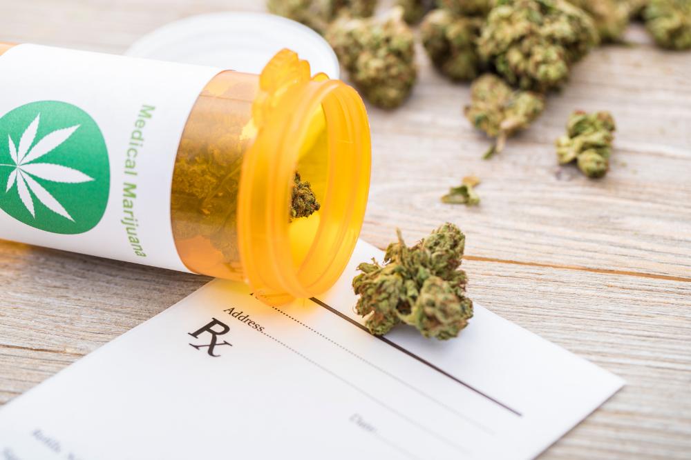 employee gets prescription for legal medical marijuana in Missouri